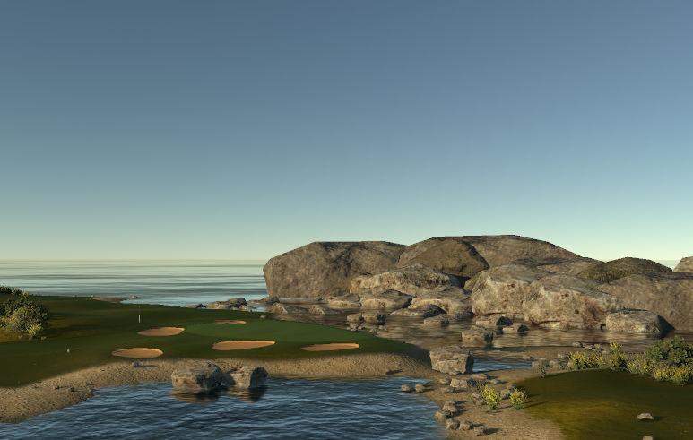 New Oakley Island  North Scotland