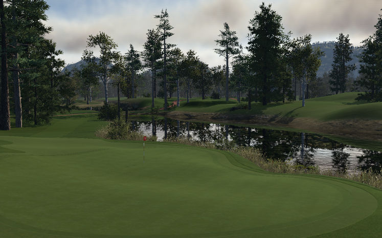 The Valley Course at Hickory Nut Hollow