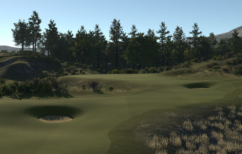 Old Course @ Eugene Links - Tour
