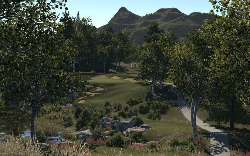 The Sneaky Yeti Golf Facility and Vegetable Market