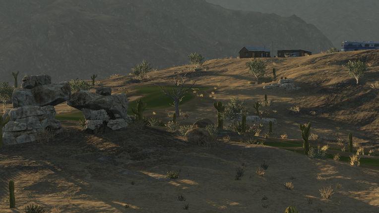 Corazón del Desierto de Perros