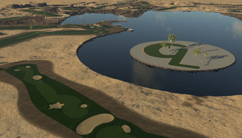 New Coyote Lakes Golf Course