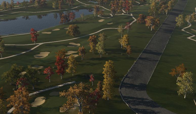 Aspinwall Motor Speedway Golf Course