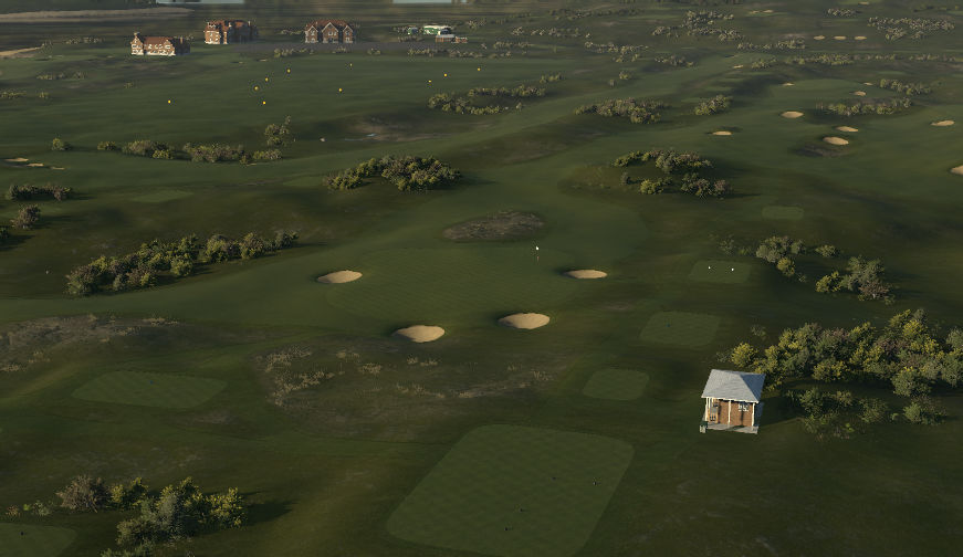 Glenelg Golf Club - Blue (Euro)