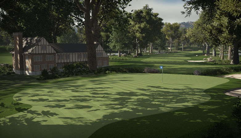 golf club Green Lake