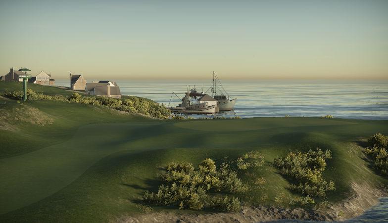 Castlebay Links on Barra (TE)