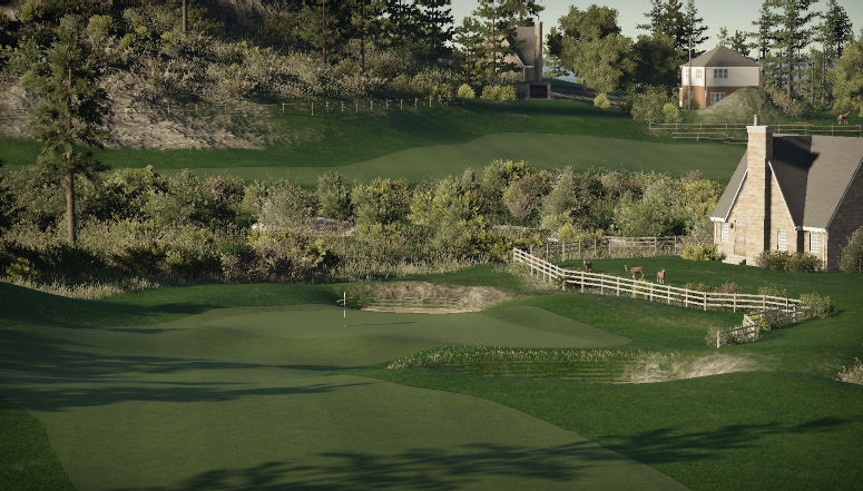 Flatrock Golf Course (CIRCA 1995)