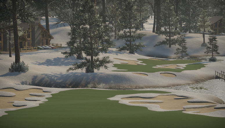 Partial thaw@Omsk Golf Club (edit)