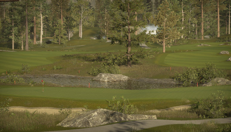 The Big Bear Country Club