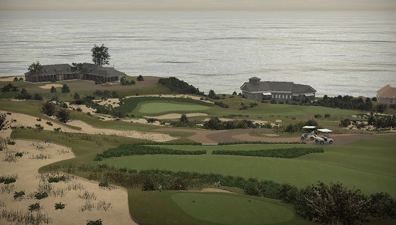 Spyglass Hill, California