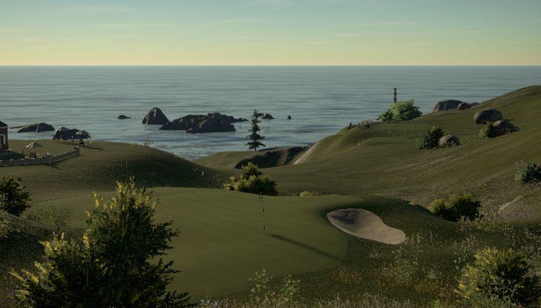 Cwrs Golff Ymyl Y Mor