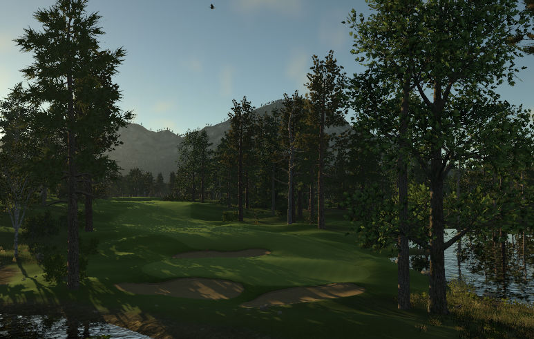 The Shore Course at Ponderosa Lakes